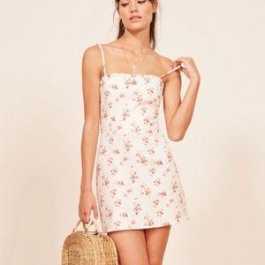 Reformation Ava Linen Dress